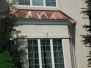 Bay Window with a Copper Roof Installation